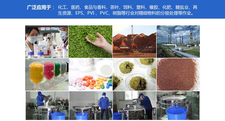 福澤產品應用領域-搖擺篩